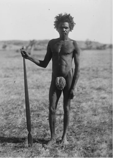 Aboriginal hunter