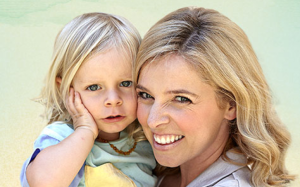 "Healthy and thriving ""Paleo baby"", Willow and his beautiful mom, Charlotte Carr"
