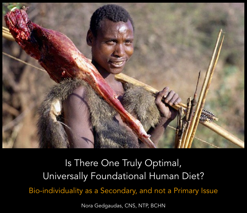 Is There One Universally Foundational Human Diet?